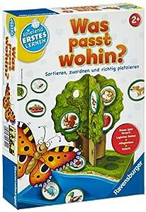 Ravensburger 24720 - Spielend Erstes Lernen Was passt wohin?