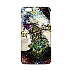Evil-Store Artistic pattern peacock 3D Phone Case for iPhone 6 plus