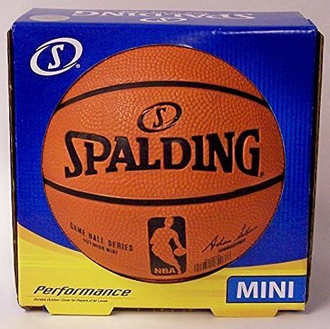Spalding NBA - Balón de baloncesto mini: Amazon.es: Deportes y ...