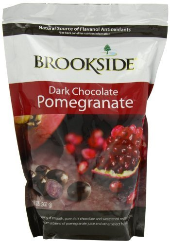 Brookside Bar - Brookside Dark Chocolate Pomegranate and fruit flavors, 32-Ounce Bag by Brookside