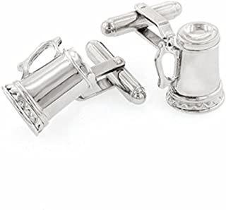 product image for JJ Weston Beer Tankard or Stein Cufflinks. Made in The USA