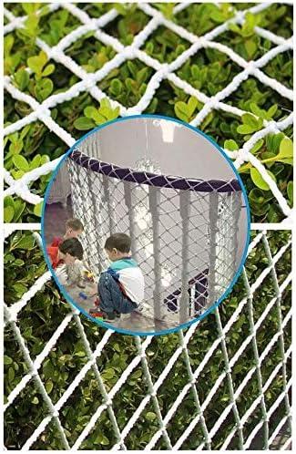 屋外および屋内フェンスネット、子供の安全保護ネット、バルコニー階段落下防止ネット、ビル建設ネット、猫ネット、カーネット、カーゴネット1x3m (Size : 4*6M(13*20ft))