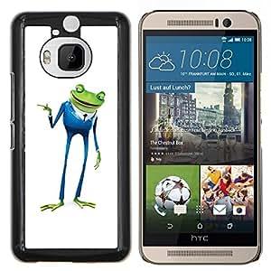 LECELL--Funda protectora / Cubierta / Piel For HTC One M9Plus M9+ M9 Plus -- Playboy Playa de negocios de la rana --