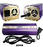 SPL Horticulture STB 1000 Hydroponic 1000w Watt HPS Mh Digital Dimmable Electronic Ballast for Grow Light Bulb Lamp Review