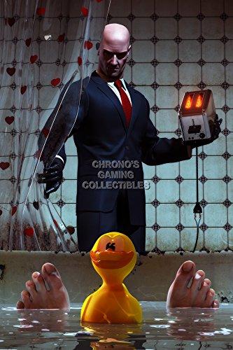 "Price comparison product image CGC Huge Poster - Hitman Blood Money Perfect Assassination XBOX PS3 XBOX 360 PC - HIT011 (24"" x 36"" (61cm x 91.5cm))"