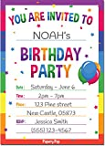 Birthday Invitations with Envelopes