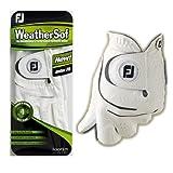 FootJoy WeatherSof Mens Golf Glove Left Hand Regular White (X-Large)