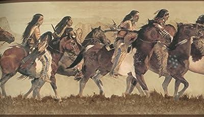 Horses Wallpaper Border WD4162