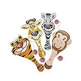 9'' Zoo Animal Paddle Ball