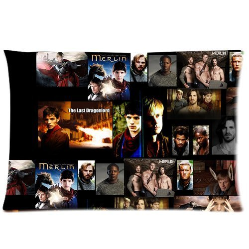 [andersonfgytyh Merlin The Checked Pattern Soft Pillow case Cover 20*30 Inch (Twin sides)Zippered] (Merlin Costumes)