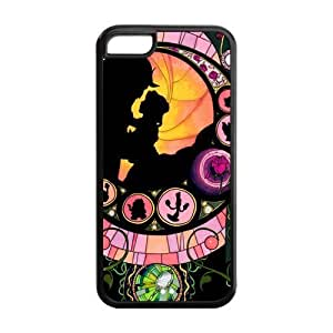 linJUN FENGFashion Beauty and the Beast Personalized ipod touch 5 Rubber Silicone Case Cover