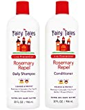 Fairy Tales Rosemary Repel Daily Kid Shampoo (32 oz) & Conditioner (32 oz) Duo for Lice Prevention