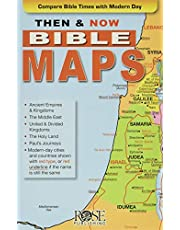 Then And Now Bible Maps, Pamphlet
