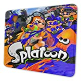 Splatoon 4 Sizes Waterproof Customized Mouse Pad, Non-Slip Rubber Mouse Mat