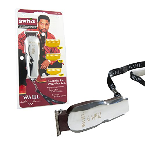 Price comparison product image Wahl Professional 5-Star G-Whiz High Precision Cordless Hair Trimmer #8986 – Great On-the-Go Trimmer for Barbers and Stylists – Includes Lanyard