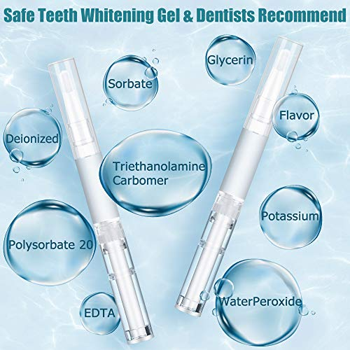 WELTEAYO Teeth Whitening Kit,Teeth Whitener,Professional Home Teeth Bleaching Kit, Perfect Home Teeth Whitening System, with Mouth Tray,10 Teeth whitening Strips