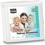 Utopia Bedding Waterproof Zippered Mattress Encasement - Bed Bug Proof Mattress Cover - Queen