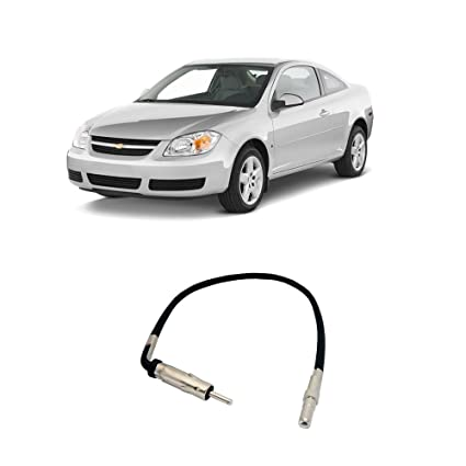 amazon com fits chevy cobalt 2007 2010 factory stereo to 06 chevy cobalt ss fits chevy cobalt 2007 2010 factory stereo to aftermarket radio antenna adapter plug