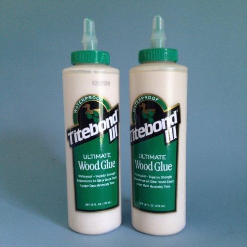 Iii Ultimate Wood Glue (Franklin International 1414 Titebond 3 Ultimate Wood Glue, 16-Ounce (2 bottles))