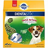 Pedigree DENTASTIX Fresh Bites Treats for Dogs 18 Ounces, Reduces Plaque and Tartar Buildup