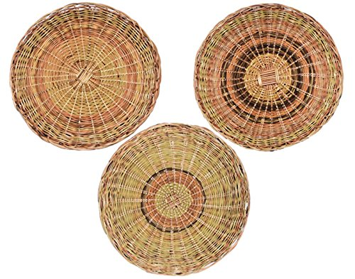 10'' Paper Plate Holder - Sturdy Handcrafted Nito (Set of 6) by Balay Handcrafts (Image #4)