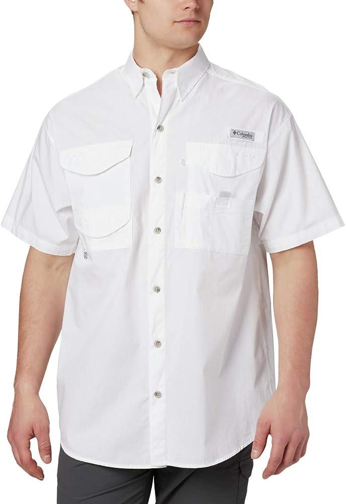 Columbia Bonehead - Camiseta de Manga Corta para Hombre, Hombre, Color Blanco, tamaño XS: Amazon.es: Deportes y aire libre