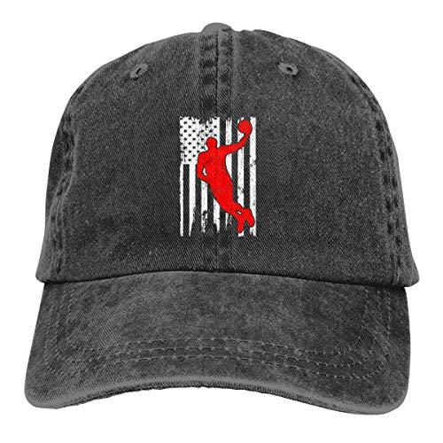 - GHYGTY Vintage Adjustable Baseball Cap Cowgirl Hat for Men/Women, Baseball Us Flag Clipart Comfortable Sun Hat .Black