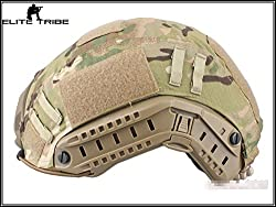 Military Army Tactical Series Airsoft Paintball Hunting Shooting Gear Combat Fast Helmet Cover Multicam MC Color