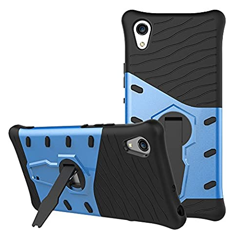 Sony Xperia XA1 Case SunRemex Rugged Armor with Full Body Protective and Resilient Shock Absorption and 360 Degree Rotating Kickstand Design for Sony Xperia XA1(2017) (Cell Phones Cases Sony Xperia)