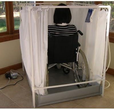 Silla de ruedas Accesible Stall de ducha portátil modelo estándar: Amazon.es: Salud y cuidado personal