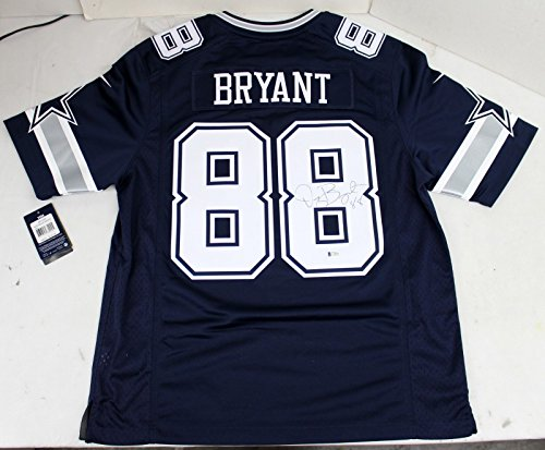 DEZ BRYANT SIGNED AUTOGRAPHED NIKE LIMITED JERSEY DALLAS COWBOYS BECKETT BAS