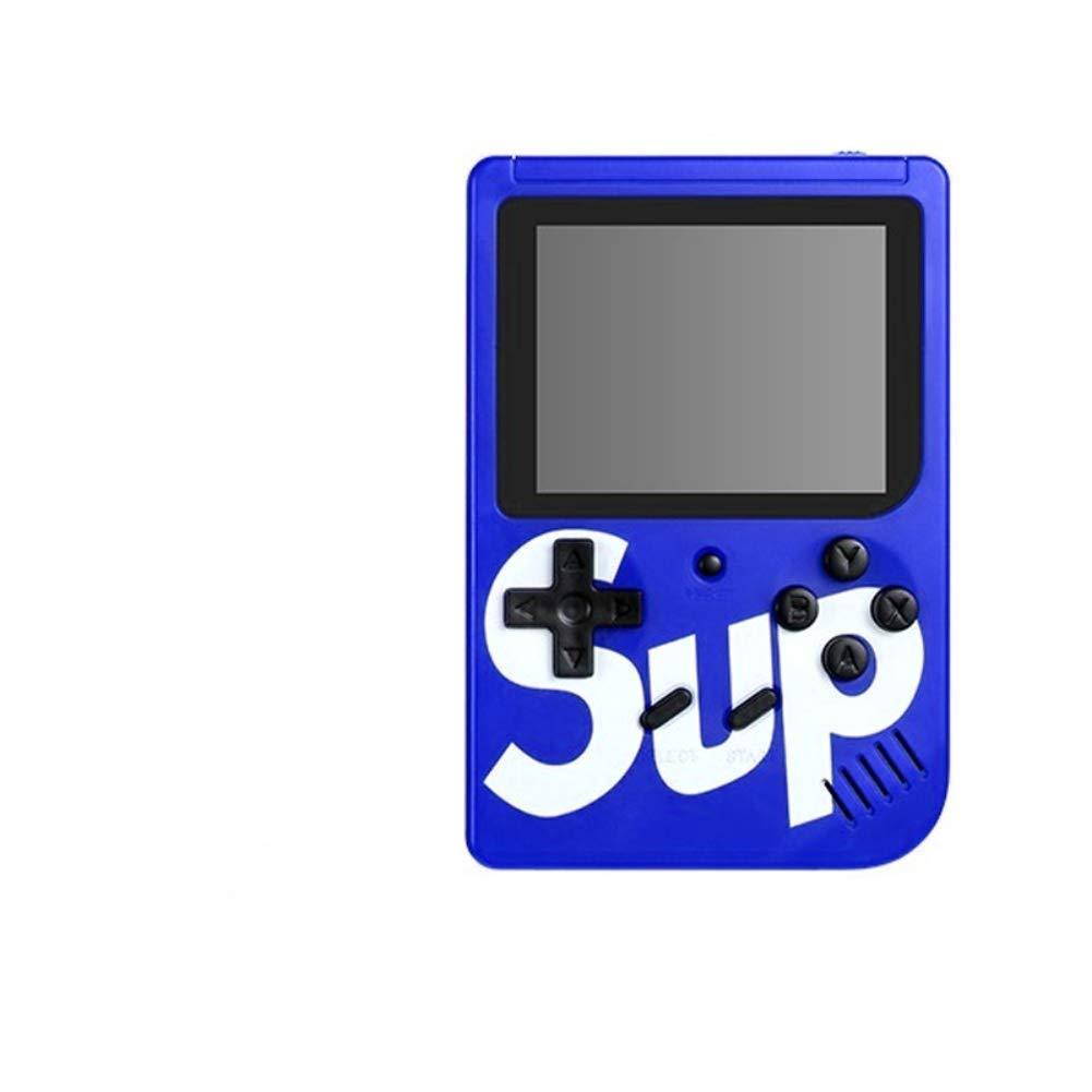 Alician FunGame Sup X Game Box 400 en una Consola de Juegos port/átil Puede conectarse a un televisor Amarillo