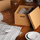 AmazonBasics Moving Boxes with Lid and Handles