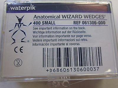 Waterpik 61306 Wizard Wedges, Anatomical, Small, Natural (Pack of 400) by Waterpik