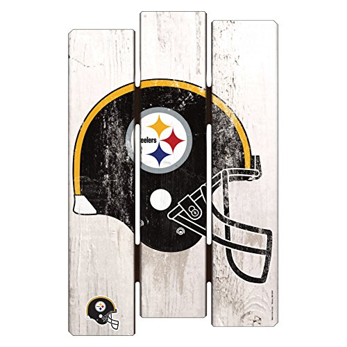 NFL Pittsburgh Steelers Wood Fence Sign, 11