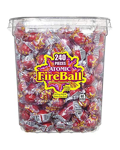 Atomic Fireball Cinnamon Hard Candy