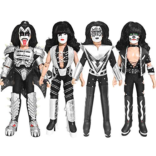 KISS 8 Inch Action Figures Series Four Monster: Set of Four LOOSE Figures