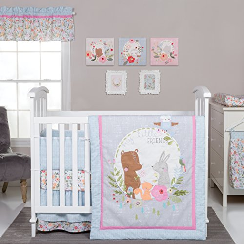 Trend Lab My Little Friends 6Piece Crib Bedding Set