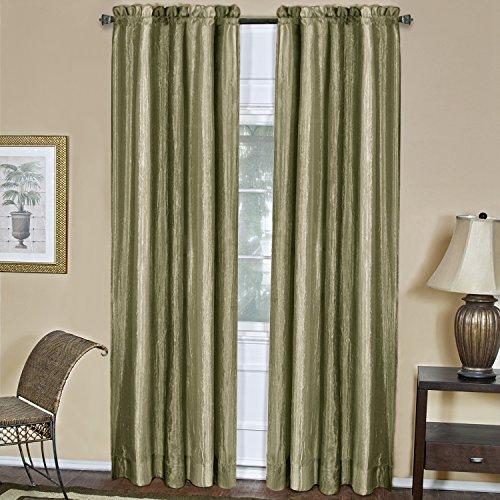 Achim Home Furnishings Ombre Window Panel, 50 84-Inch, Sage, Inch Inch (Home Furnishings Green)