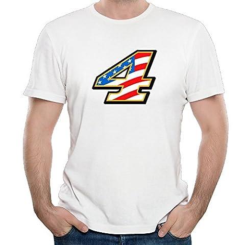 Men's Kevin Harvick Stewart-Haas Racing Team Graphic Tees Fashion (Garden Flag Tony Stewart)