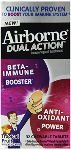 Airborne Booster Anti Oxidant Supplement Tropical
