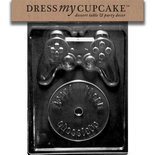 Dress My Cupcake Video Game Kit Chocolate Mold - M216 - Includes Melting & Chocolate Molding Instructions