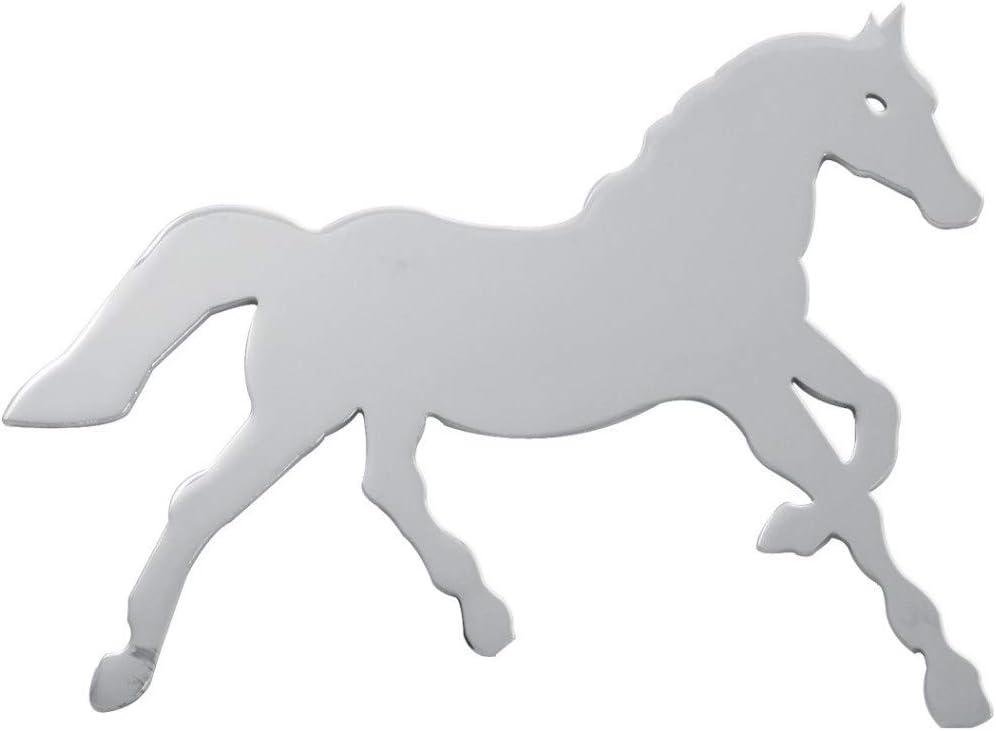 Grand General 90476 Chrome Medium Horse w//Studs on Back