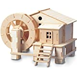 Water wheel QUAY Woodcraft Construction Kit FSC