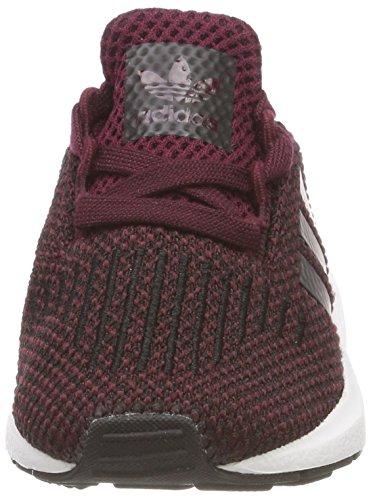 adidas Unisex Baby Swift Run Sneaker Rot (Maroon/Core Black/Footwear White 0)