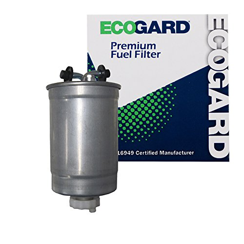 (ECOGARD XF10064 Diesel Fuel Filter - Premium Replacement Fits Volkswagen Jetta, Golf)