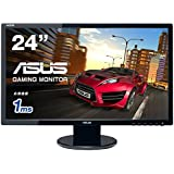 ASUS ゲーミングモニター24型 フルHDディスプレイ (応答速度1ms/HDMI,DVI,D-sub/スピーカー内蔵/VESA規格/3年保証) VE248HR