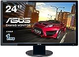 ASUS ゲーミングモニター24型 フルHDディスプレイ (応答速度1ms / HDMI,DVI,D-sub/スピーカー内蔵 / VESA規格 / 3年保証) VE248HR