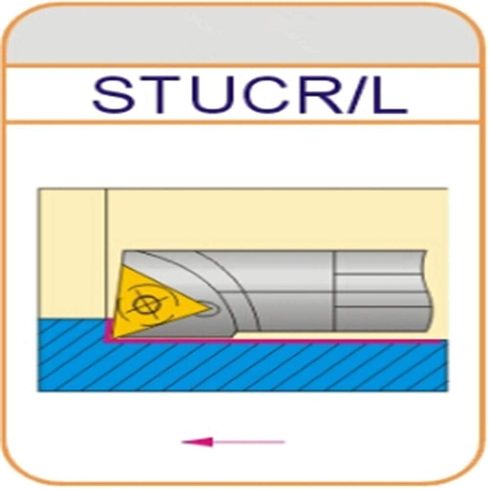 ZIYI S20R-STUCR11 Index Internal Lathe Turning Holder For TCMT Inserts