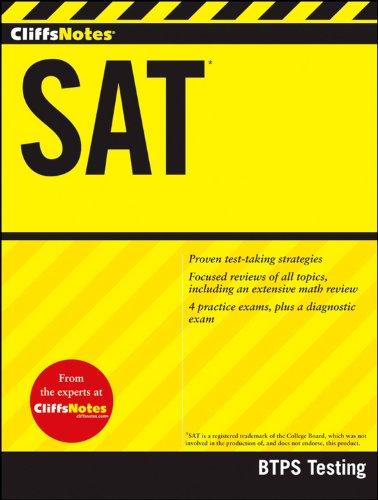 CliffsNotes SAT (CliffsNotes (Paperback))